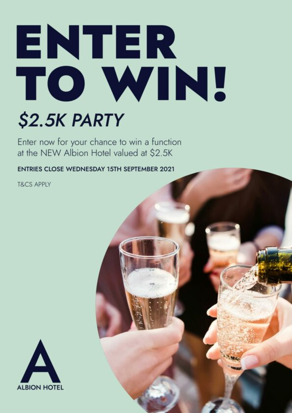 Enter to win! $2.5K Party